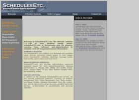 schedulesetc.com