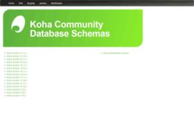 schema.koha-community.org