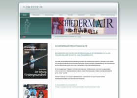 schiedermair.com