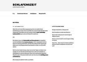 schlafenszeit.com
