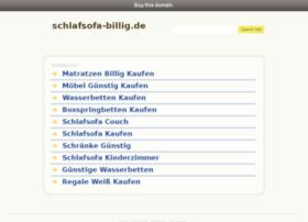 schlafsofa-billig.de