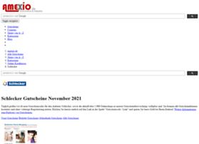 schlecker-gutscheine.amexio.de