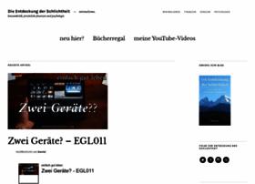 schlichtheit.com