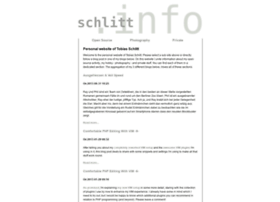 Schlitt.info
