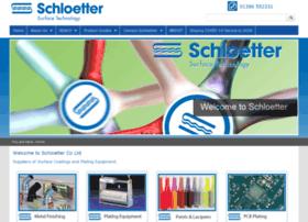 schloetter.co.uk
