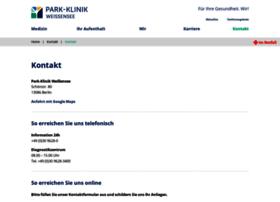 schlosspark-klinik.de
