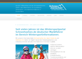 schneemenschen.net