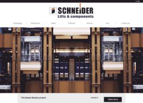 schneider-elevator.com