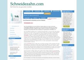 schneidezahn.com