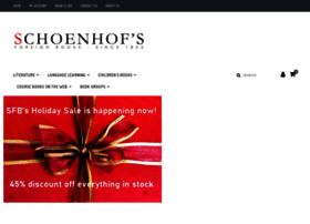 schoenhofs.com