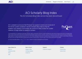 scholar.aci.info