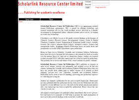 scholarlinkresearch.com