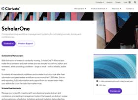 scholarone.com