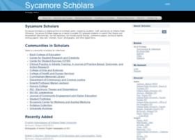 scholars.indstate.edu
