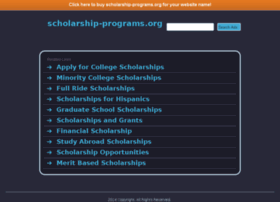 scholarship-programs.org