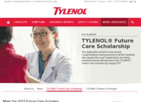 scholarship.tylenol.com