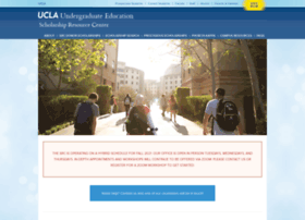 scholarshipcenter.ucla.edu