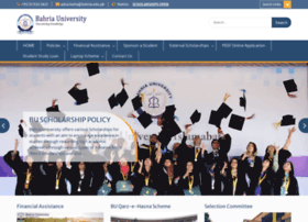 scholarships.bahria.edu.pk