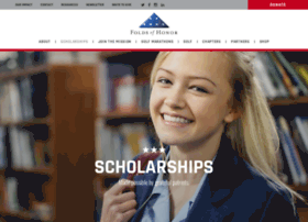 scholarships.foldsofhonor.org