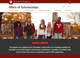 scholarships.indiana.edu