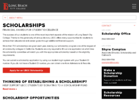 scholarships.lbcc.edu