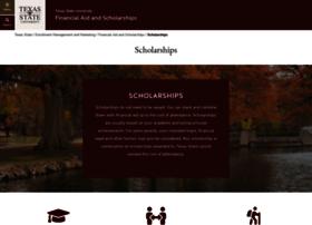 scholarships.txstate.edu