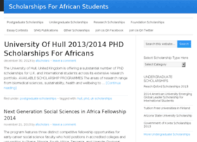 scholarships4africans.com