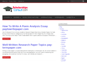 scholarshipsconsult.com