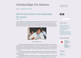 scholarshipsforseniors.wordpress.com