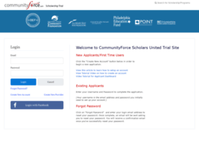 scholarshiptrial.communityforce.com