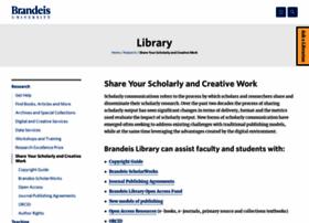 scholcomm.brandeis.edu