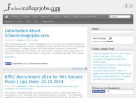 schoolcollegejobs.com