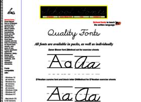 schoolfonts.com