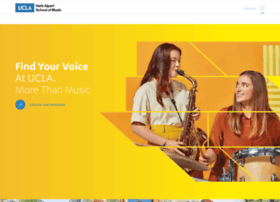schoolofmusic.ucla.edu