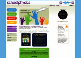schoolphysics.co.uk