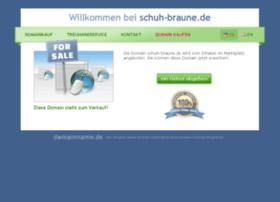 schuh-braune.de