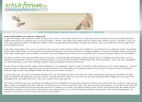 schuh-forum.de
