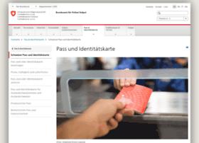 schweizerpass.admin.ch