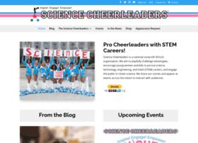 sciencecheerleader.com