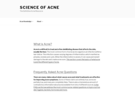 scienceofacne.com