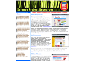 scienceprojectresources.com