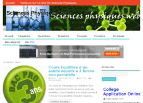 sciences-physiques-web.fr