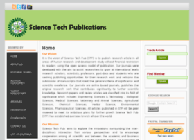 sciencetechpub.com