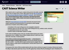 sciencewriter.cast.org