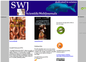 scientificwebjournals.com