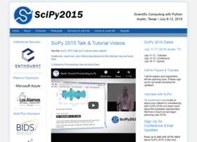 scipy2015.scipy.org