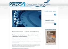 sciroxxlabs.com