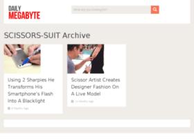 scissors-suit.dailymegabyte.com
