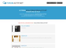 scola-forum.forum-actif.net