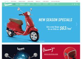 scooters.vespausa.com